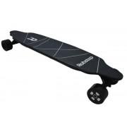 Skateboard electric Robstep T2, Viteza maxima 25 km/h, Autonomie 20 km, Putere motor 2 x 350W (Negru)