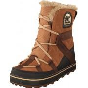 Sorel Glacy Explorer Shortie 286 Elk, Skor, Kängor & Boots, Varmfodrade kängor, Röd, Brun, Dam, 38