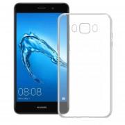 Funda Para Huawei Gw Metal / Y7 Prime Silicon TPU - Transparente