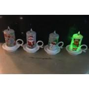 Karácsonyi led dekorgyertyák