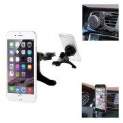Shop4 - Telefoonhouder Auto Magnetische Autohouder Ventilatierooster Klem Zwart