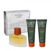 Laura Biagiotti Roma Uomo Eau De Toilette 75 ML + 2 Shower Gel