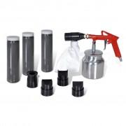 vidaXL Air Sand Blasting Kit & Nozzles Included