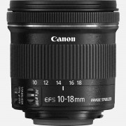 Canon Objectif Canon EF-S 10-18mm f/4.5-5.6 IS STM
