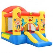 Happy Hop Insuflável com escorrega 330x230x230 cm PVC