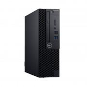 Sistem desktop Dell OptiPlex 3070 SFF Intel Core i3-9100 8GB DDR4 256GB SSD Linux 3Yr BOS Black