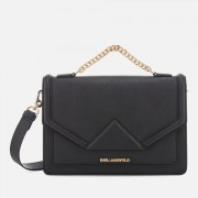Karl Lagerfeld Women's K/Klassik Shoulder Bag - Black/Gold