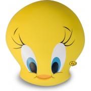 Tweety looney Tunes hoofd kussen/ knuffel Leblon Dellienne 20 cm