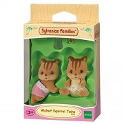 Sylvanian Families - Walnut Squirrel Twins - 5081 - New by Sylvanian Families