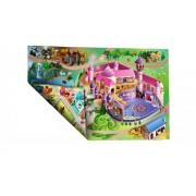 Dětská hrací oboustranná podložka 02 - délka 100 cm a šířka 75 cm