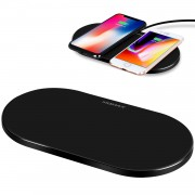 MOMAX UD11 Q.PAD PRO 5000mAh Wireless Charger Fast Charging Pad (Not Support FOD Function) - Black