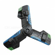 360 'girar teledirigido Flying Saucer UFO Dart Toy - Negro? azul
