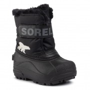 Cizme de zăpadă SOREL - Childrens Snow Commander NC1960 Black/Charcoal 010