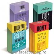 Pachet din carton Mad4 Flip Top pt pachetul de tigari