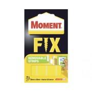 Benzi dublu adezive detasabile Moment Fix 20x40 mm, 10 buc.