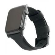 Apple Urban Armor Gear Leather Apple Watch 44MM / 42MM Bandje Zwart