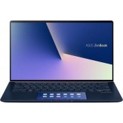 "Ultrabook Asus ZenBook UX434FLC-A5131R (Procesor Intel® Core™ i7-10510U (8M Cache, up to 4.90 GHz), Comet Lake, 14"" FHD, 16GB, 1TB SSD, nVidia GeForce MX250 @2GB, Win10 Pro, Albastru)"