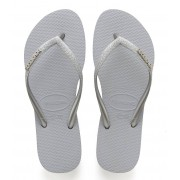 Havaianas Slippers Flipflops Kids Slim Shiny Grijs