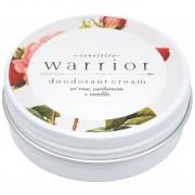 Warrior Botanicals Deodorant Crème - Baking Soda-Vrij - Rozen, Kardemom & Vanille - Warrior Botanicals