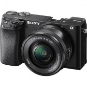 Sony Alpha 6100 L Mirrorless Camera w/ 16-50mm Lens