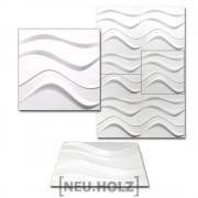 [neu.haus]® 3D Панел за стенна декорация, с мотиви, 50 x 50 cm, 6m²