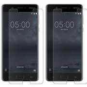 Deltakart Tempered Glass for Nokia 5 - Pack of 2