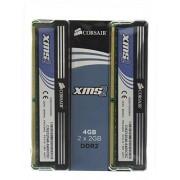 Corsair XMS2 - Mémoire - 4 Go : 2 x 2 Go - DIMM 240 broches - DDR2 - 800 MHz / PC2-6400 - C5C - 1.8 V - mémoire sans tampon - NON ECC