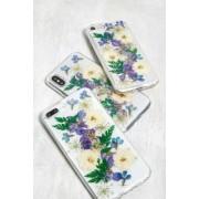 Urban Outfitters Recover -u00a0Coque pour iPhoneu00a06/7/8/SE fleurs séchées bleues- taille: ALL