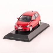 Volkswagen Golf Plus 5 usi 2005, macheta auto scara 1:43, rosu, Magazine models