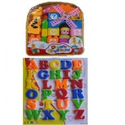 New pinch 35 pcs. Building Blocks with Magnetic Learning Alphabet Capital Letters(Big size)
