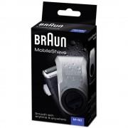 Braun Aparat de ras MobileShave M-90R, negru/argintiu
