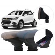 Apoio de Braço Chevrolet Tracker com coifa e porta-objetos