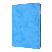PU Leather Stand Tablet Case Shell with Pen Slot for iPad 10.2 (2019) - Baby Blue