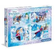 Puzzle Clementoni - Frozen, 20/60/100/180 piese (62345)
