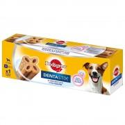Pedigree Dentastix Dos veces a la semana (DentaFlex) - Perros medianos (9 x 80 g) - Pack Ahorro