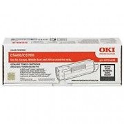 Oki 43324408 Original Toner Cartridge Black