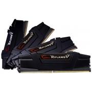 Memorie G.Skill Ripjaws V Black, 4x8GB, DDR4, 3200MHz