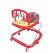Ehomekart Red Classic Adjustable Musical Walker for Kids