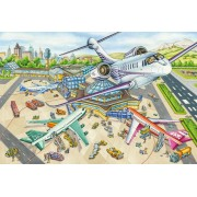 Puzzle Schmidt - O zi la aeroport, 100 piese (56206)