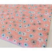 Kisvirágos kockás karton terítő, kék /Cikksz:0210257