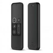 Elago R2 Slim Case - удароустойчив силиконов калъф за Apple TV Siri Remote (черен)