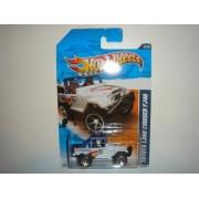 2011 Hot Wheels Toyota Land Cruiser Fj40 White With Chrome Or5 Sp Wheel #133/244