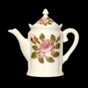 V.K.44-01 Romantik rózsás kanna.kerámia, kézzel festett