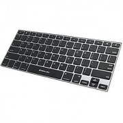 IOGEAR KeySlate Ultra-Slim Bluetooth 4.0 Keyboard for iOS Devices (GKB641B)