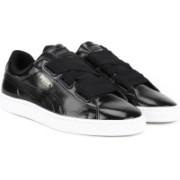 Puma Basket Heart Glam Jr Sneakers For Women(Black)