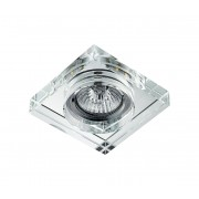 LED Lampă încastrată ELEGANT DOUBLE LIGHT 1xGU10/50W+LED/3W