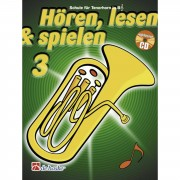 De Haske Hören, lesen, spielen, Band 3 Tenorhr./Euph.in B, Buch & CD