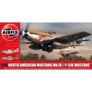 KIT CONSTRUCTIE AVION NORTH AMERICAN MUSTANG MK I 1 48 - AIRFIX (AF05137)