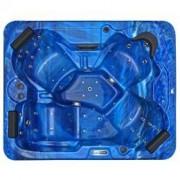 Spatec Jacuzzi Outdoor Whirlpools - SPAtec 500B blau