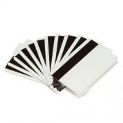 Card magnetic PVC Zebra, Lo-Co, CR80, alb